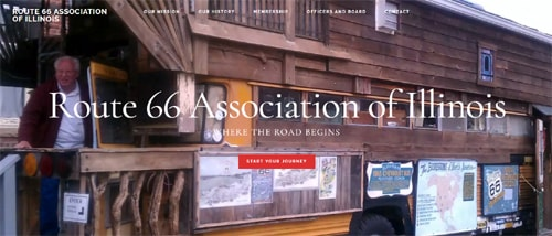 Route 66 Association of Illinois launches redesigned website