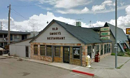 Old Smoky's Restaurant building in Williams torn down