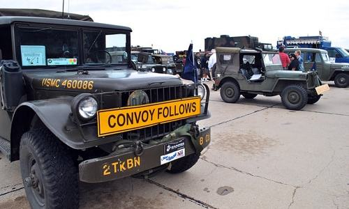 Antique military vehicle convoy on Route 66 begins Sept. 16