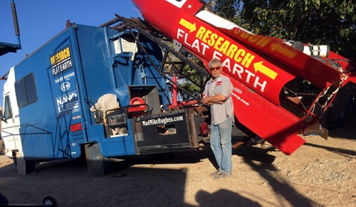 Man plans to launch himself in rocket over Amboy on Saturday