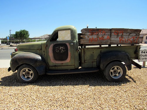 California Route 66 Museum forced to auction its antique truck