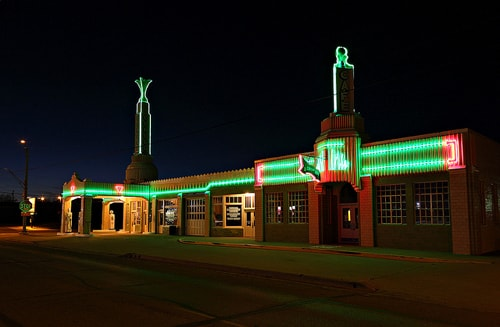 Scenes from the Texas Route 66 Festival