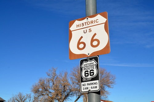 What is the capital of Route 66?