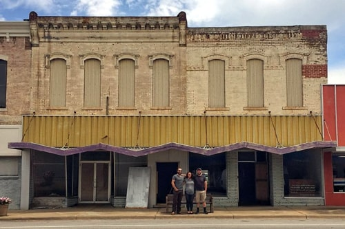 Another old building in downtown Baxter Springs being renovated