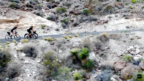 """""""Outskirts: Route 66"""" film shows a group's trip on Route 66 by bicycle"""