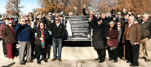 Mother Jones historical marker unveiled at Coalfield rest area in Illinois