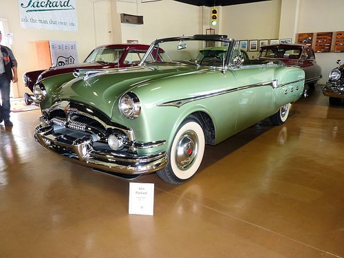 Majority of Packard collection at Afton Station sold, hauled away