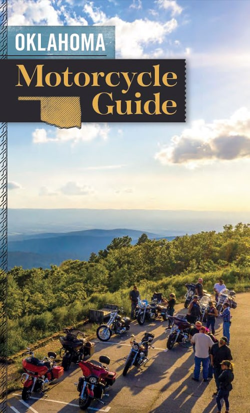 Oklahoma Motorcycle Guide includes Route 66 itinerary
