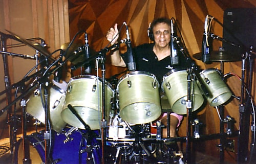 Hal Blaine, drummer on dozens of hit records, dies at 90