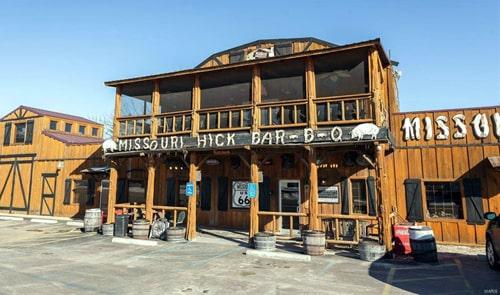 Missouri Hick Bar-B-Que restaurant put up for sale