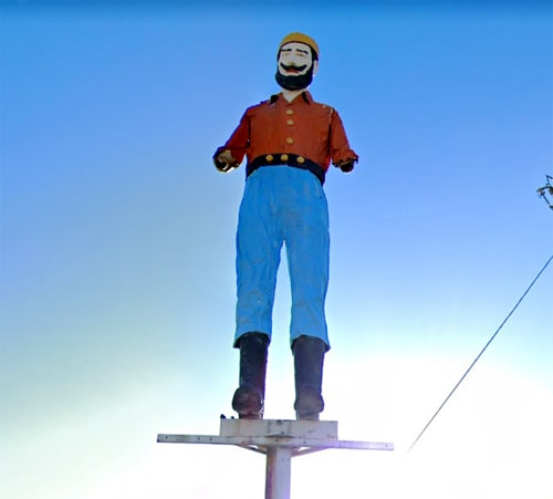 Muffler Man in Albuquerque to be restored