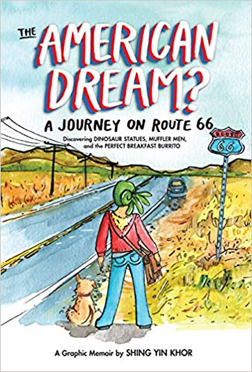 Cartoonist to publish graphic novel about Route 66 journey
