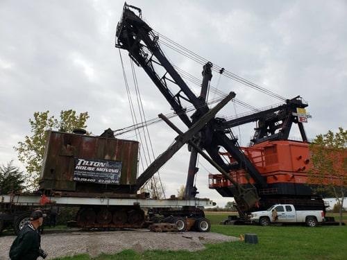 Markley Shovel, a predecessor to Big Brutus, is dedicated