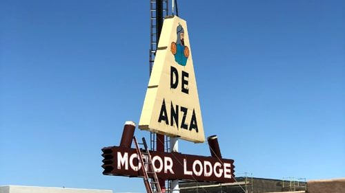 Two neon signs reinstalled along Route 66 in Albuquerque