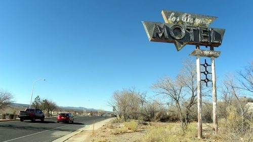 Another Route 66 sign disappears from Grants