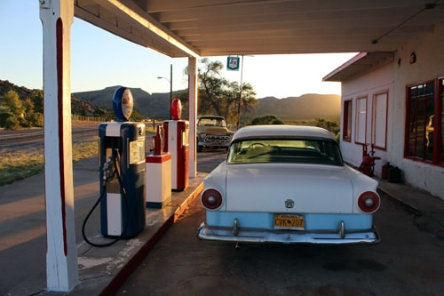 A long-closed gas station in Valentine, Arizona, reopens as a gift shop
