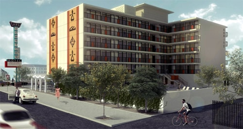 Will crowdfunding help revitalize vintage Route 66 hotel in Albuquerque?