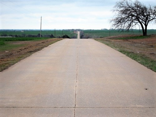 County may rehabilitate an original stretch of Route 66 west of El Reno