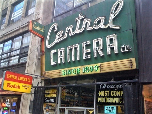 Central Camera in Chicago to reopen in a storefront next door in September