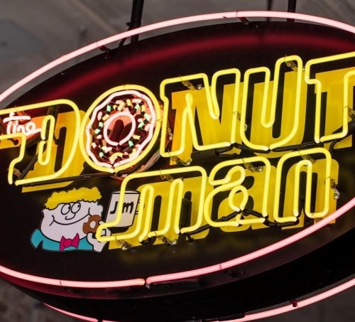 Donut Man opens satellite location in downtown Los Angeles today