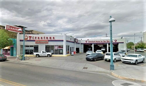 Vintage Firestone station in downtown Albuquerque closes