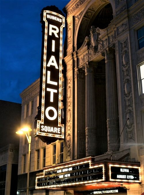 Rialto Square Theatre will be temporarily converted into traffic court
