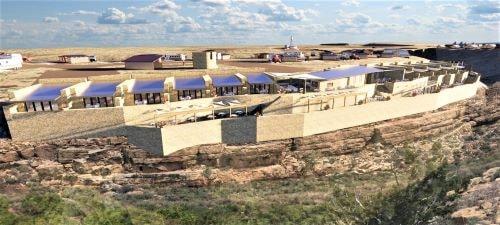 Elaborate development planned for Two Guns site in Arizona