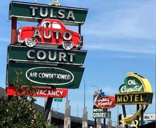 Lighting ceremony set for Tuesday night at Tulsa's new neon-sign park