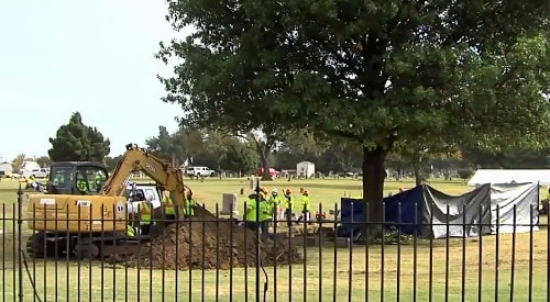 Ten coffins found in mass grave that may be victims of 1921 Tulsa Race Massacre