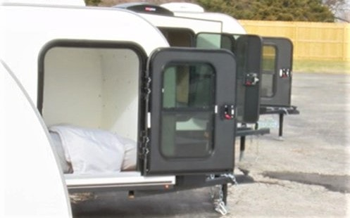 Revive 66 Campground is getting 10 more teardrop trailers