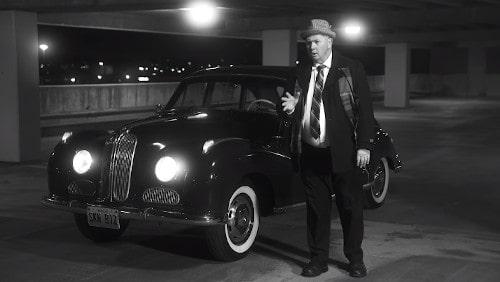 Film noir tax parody shot along Route 66 in Springfield, Missouri