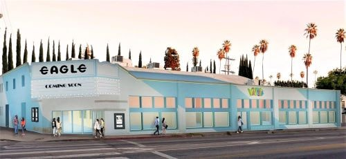 Historic Eagle Rock theater in Los Angeles to reopen, along with new video store