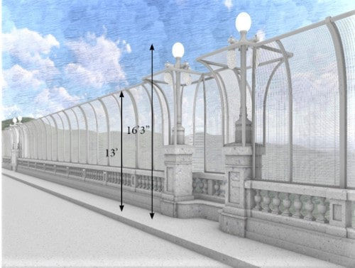 City of Pasadena taking feedback on safety barrier designs for Colorado Street Bridge