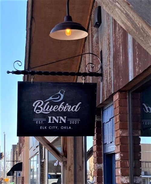 Bluebird Inn boutique hotel opens in a historic building in downtown Elk City