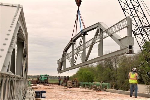 How to update but preserve vital parts of a historic structure: the Captain Creek Bridge in Wellston