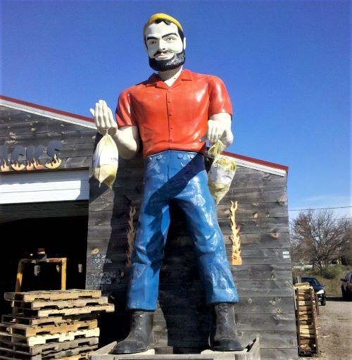 For sale: One slightly used Muffler Man