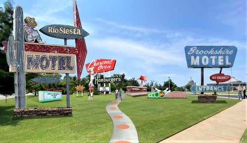 Route 66 neon sign park proposed at Oklahoma History Center in OKC