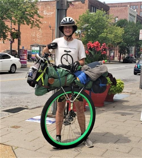 Man aims to ride his unicycle down Route 66 for charity