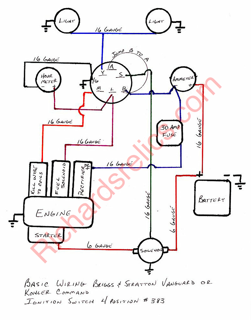medium resolution of route 6x6 kohler magnum 18 hp wiring diagram