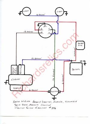 Diagram Ignition Tecumseh Hh100 Wiring
