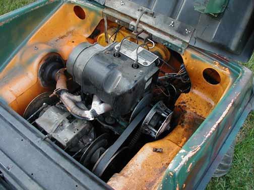 6x6 World Jlo Two Stroke Engine