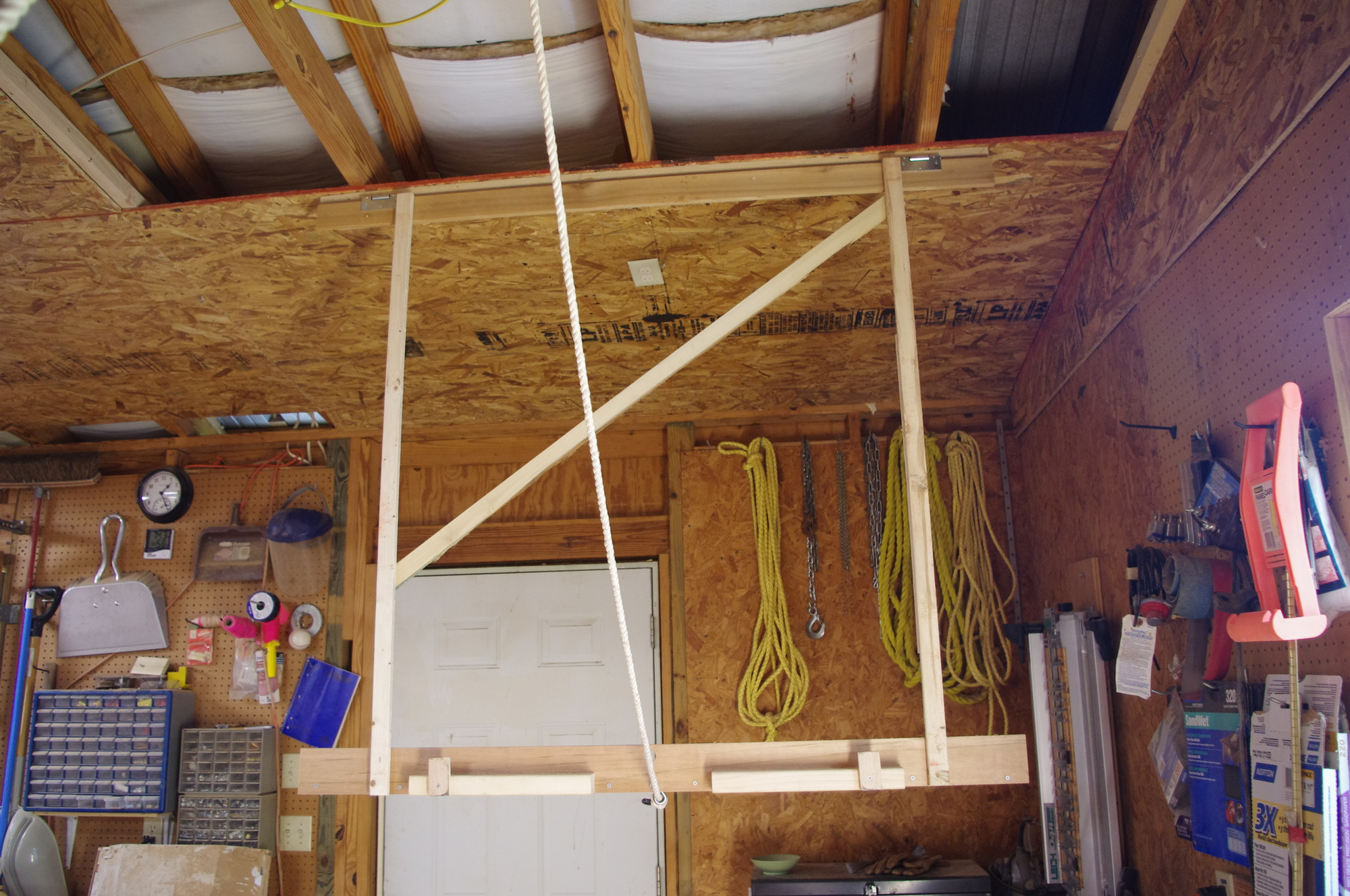 Jig To Install 4x8 Sheets To Ceiling