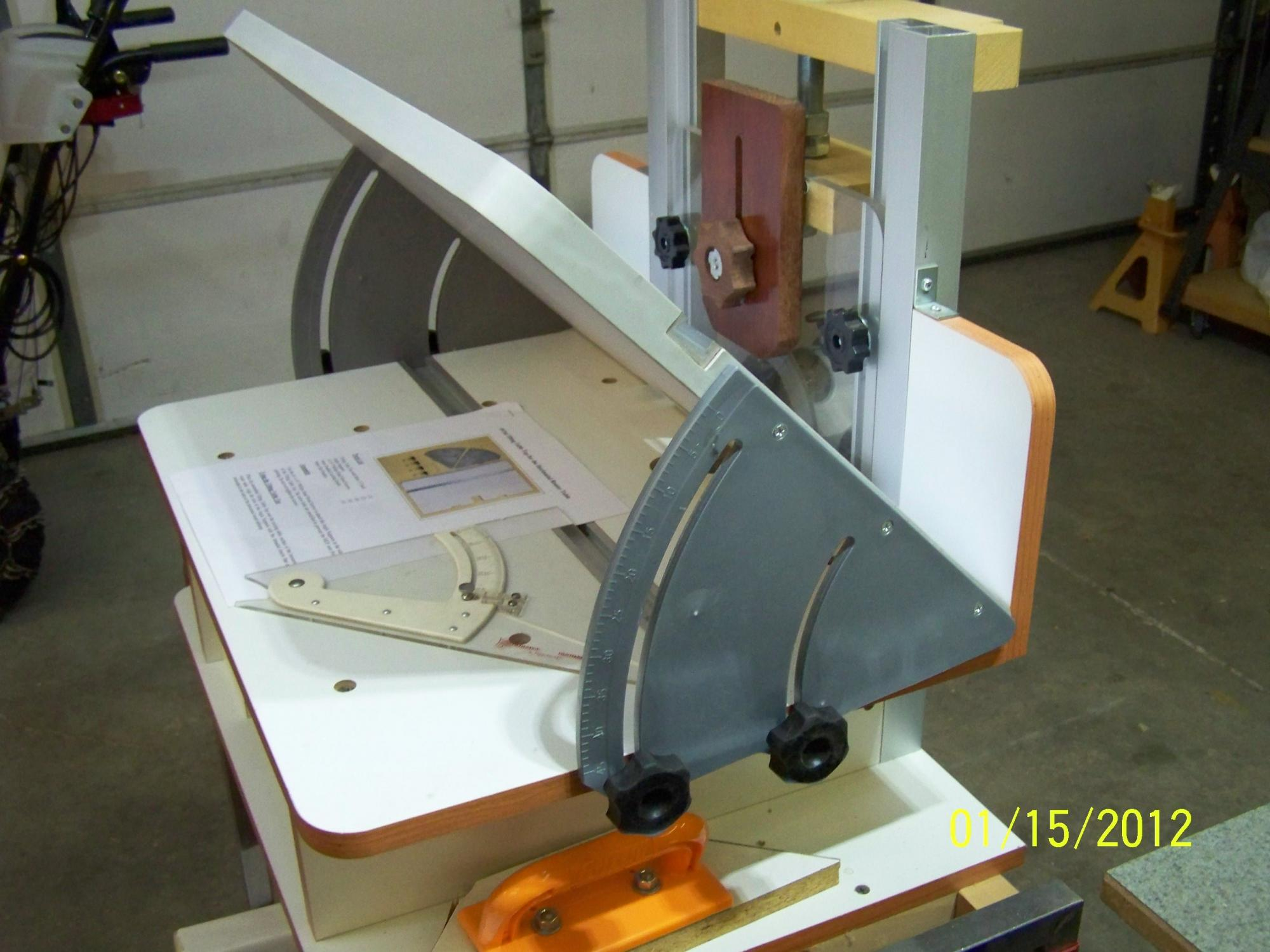 Horizontal Router Jig