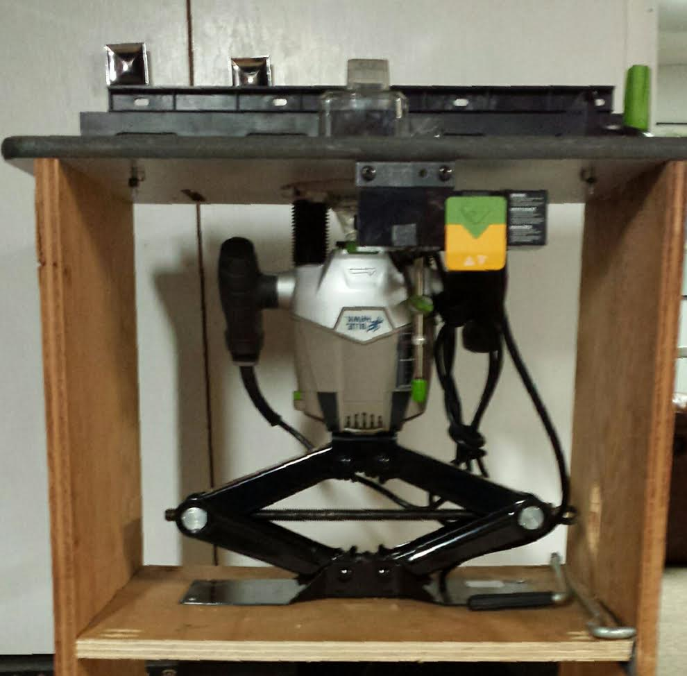 Router Table Lift Kit