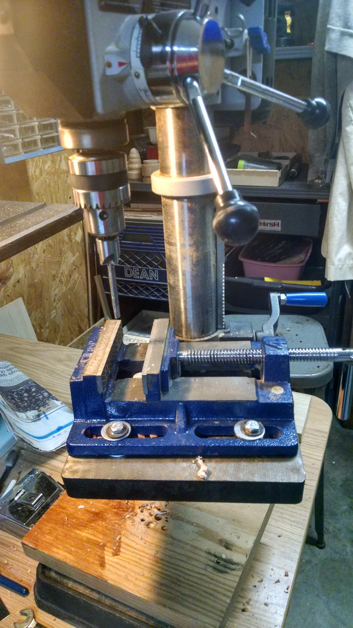 Harbor Freight Drill Press Vice