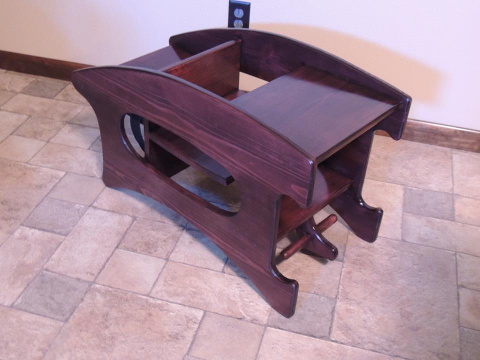 3 in one high chair plans custom barber chairs woodworking for amish 1 router forums click image larger version name hc desk jpg views