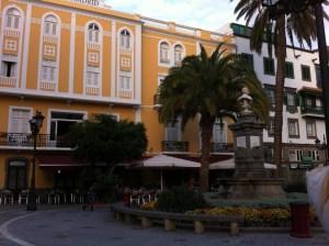 A plaza in Vegueta, Las Palmas