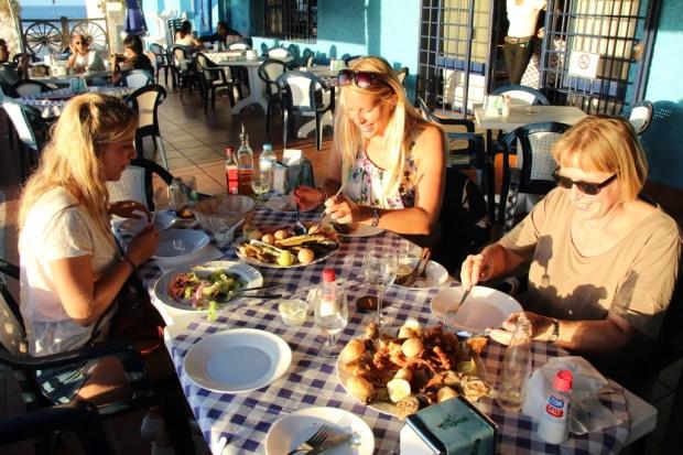 Puerto de las Nieves seafood restaurant