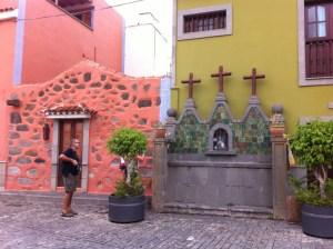 Street corner in Sta Brigida
