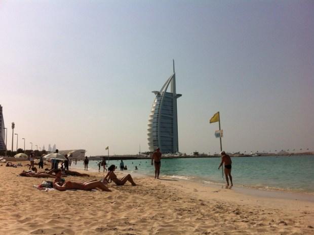 Burj Al Arab from Umm Suqeim Beach